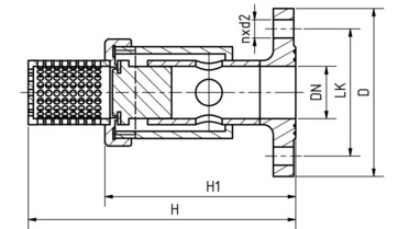 Drawing: Suction filters DN 15-400