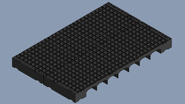 Floor Grating made of PP