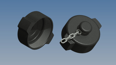 Sealing caps made from PE